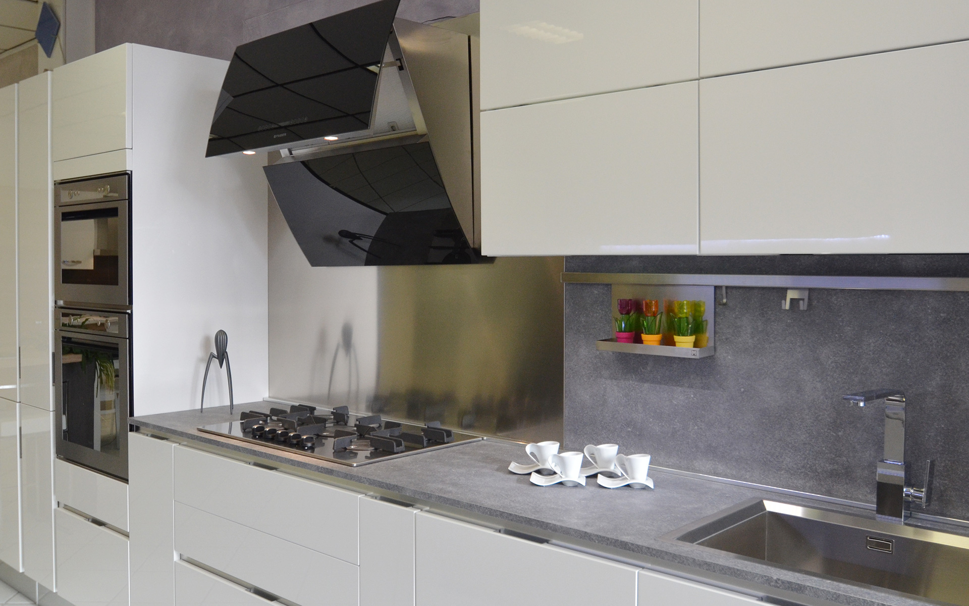 Amazing cappe per cucine moderne we62 pineglen for Accessori per cucina moderna