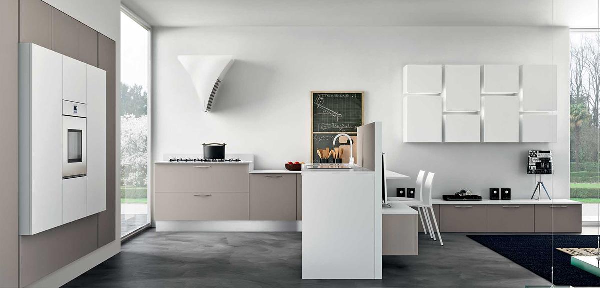 Cucine Incassate Moderne.Cucine Componibili Elettrodomestici Da Incasso Team Ferrara