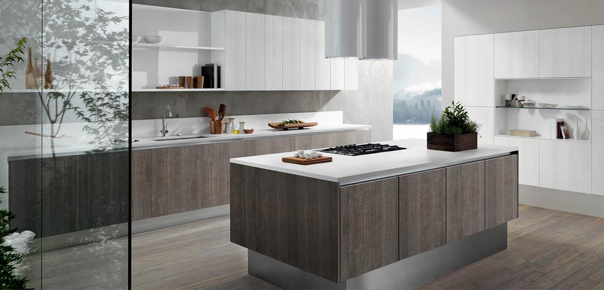 Kira Con Isola Cucine Moderne Mobili Sparaco | sokolvineyard.com
